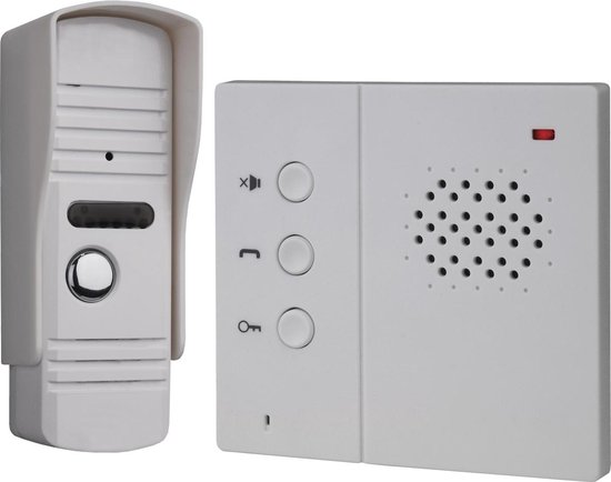 Smartwares IB71 - Audio intercom set - 3 draads - 2-weg audio communicatie IB71