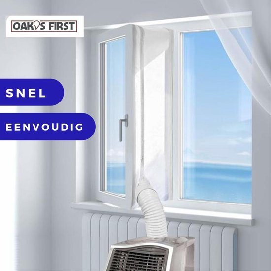 Oak's First - Airco raamafdichtingskit